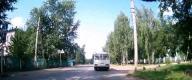 Автобус на878 и пешеход